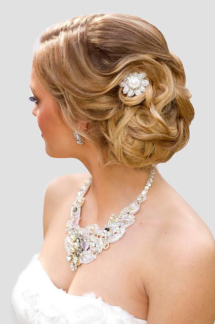 """Small wedding hair accessory- """"Mia Hair Clip"""""""