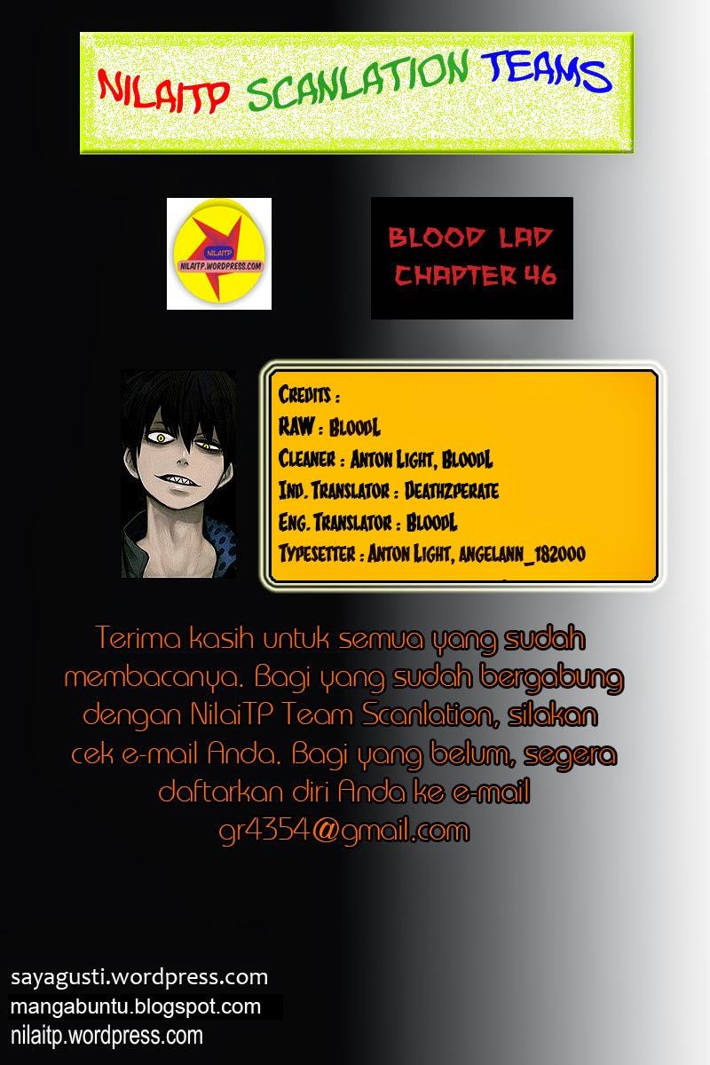 Dilarang COPAS - situs resmi www.mangaku.web.id - Komik blood lad 046 - chapter 46 47 Indonesia blood lad 046 - chapter 46 Terbaru 1|Baca Manga Komik Indonesia|Mangacan