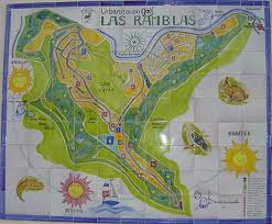 Wonder of La Rambla street Latest Map