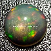 Batu Permata Black Opal - Kode  21L01