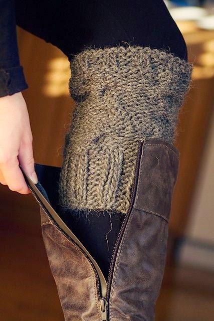 fall leg warmers