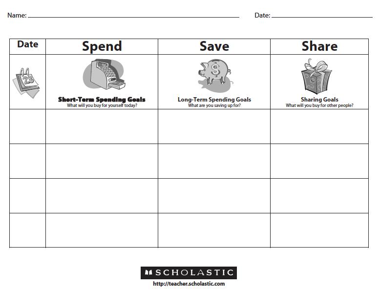 Savings Worksheet (Free Download) (Free Download)