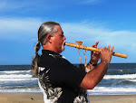 David on Native American style wooden flute for you!