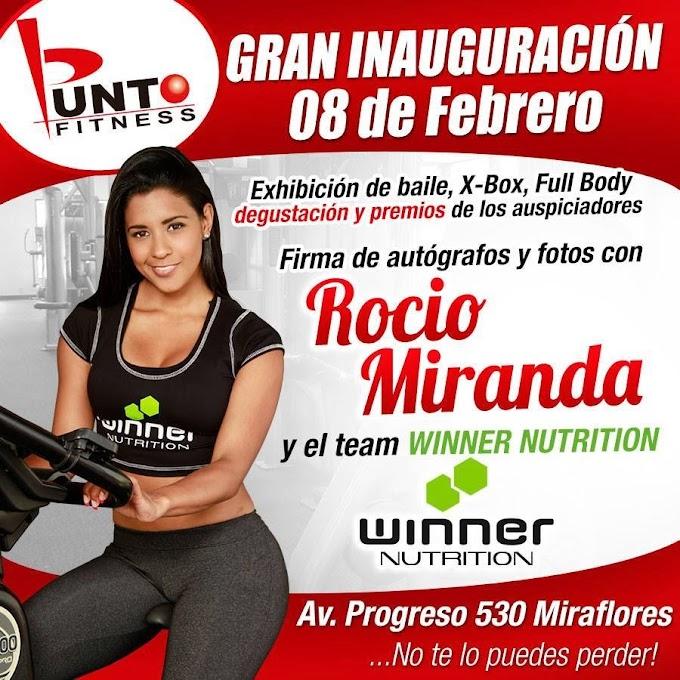 Rocio Miranda en Arequipa - firma de autógrafos - 08 febrero