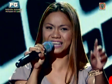 Chien Berbana of The Voice PH