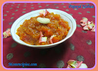 http://www.momrecipies.com/2014/09/papaya-halwa-navratri-recipes.html