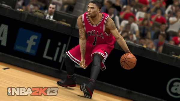 Screen Shot Of NBA 2K13 (2012) Full PC Game Free Download At worldfree4u.com
