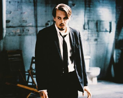 Steve Buscemi as Mr. Pink in Reservoir Dogs