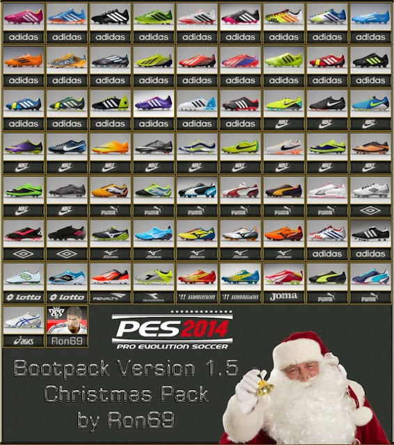 PES 2014 Bootpack 1.5 Christmas Pack By Ron69