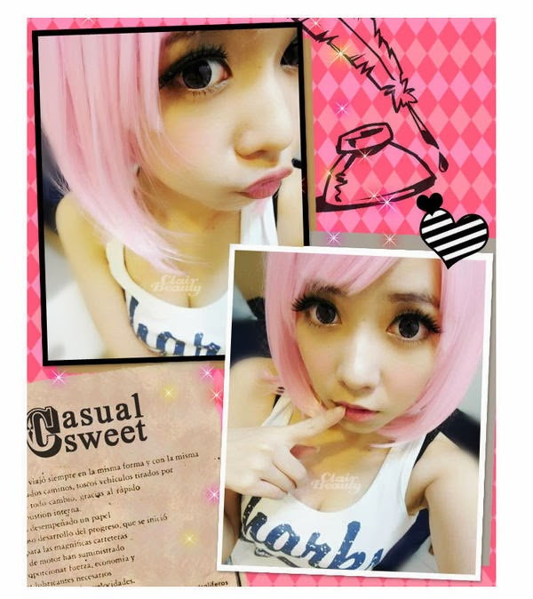 Yesstyle Pink Wig 107