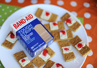 Sookie Band Aids@ Northman's Party Vamps