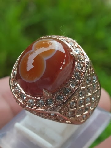 natural pictorial agate