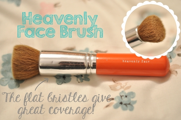 bareEscentuals Heavenly Face Brush review