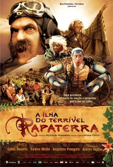 Filme Poster A Ilha do Terrível Rapaterra DVDRip XviD & RMVB Nacional