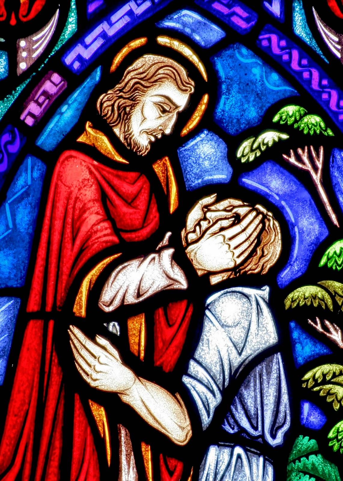 Jesus guérissant Prières Catholiques