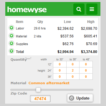 Attic Insulation Cost Calculator