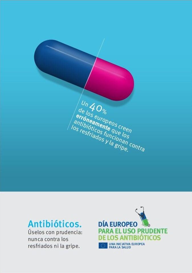 Los antibióticos no funcionan contra el resfriado ni la gripe #consejosdefarmacia