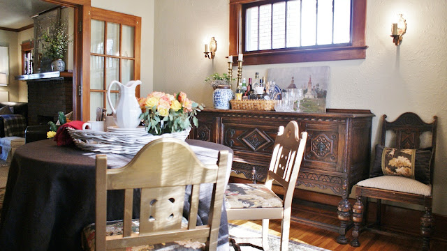 small dining room decorsting ideas