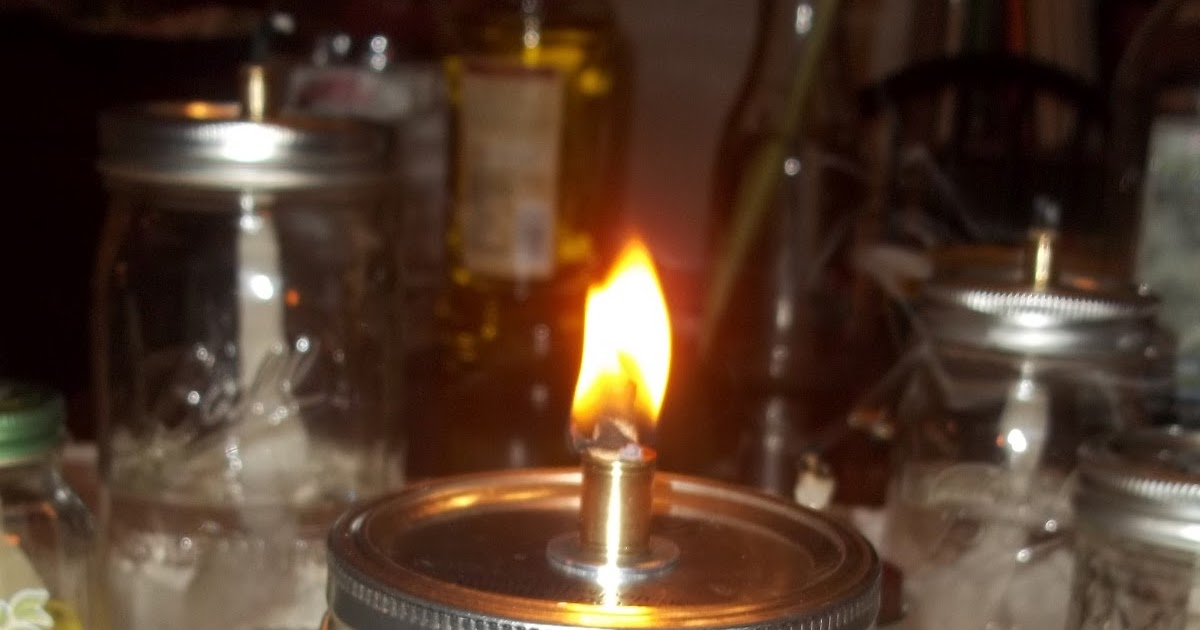 Dirty Goat Farm Homemade Oil Lamp To Burn Your Midnight