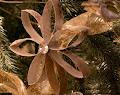 Ornamento Navidad con Reciclaje