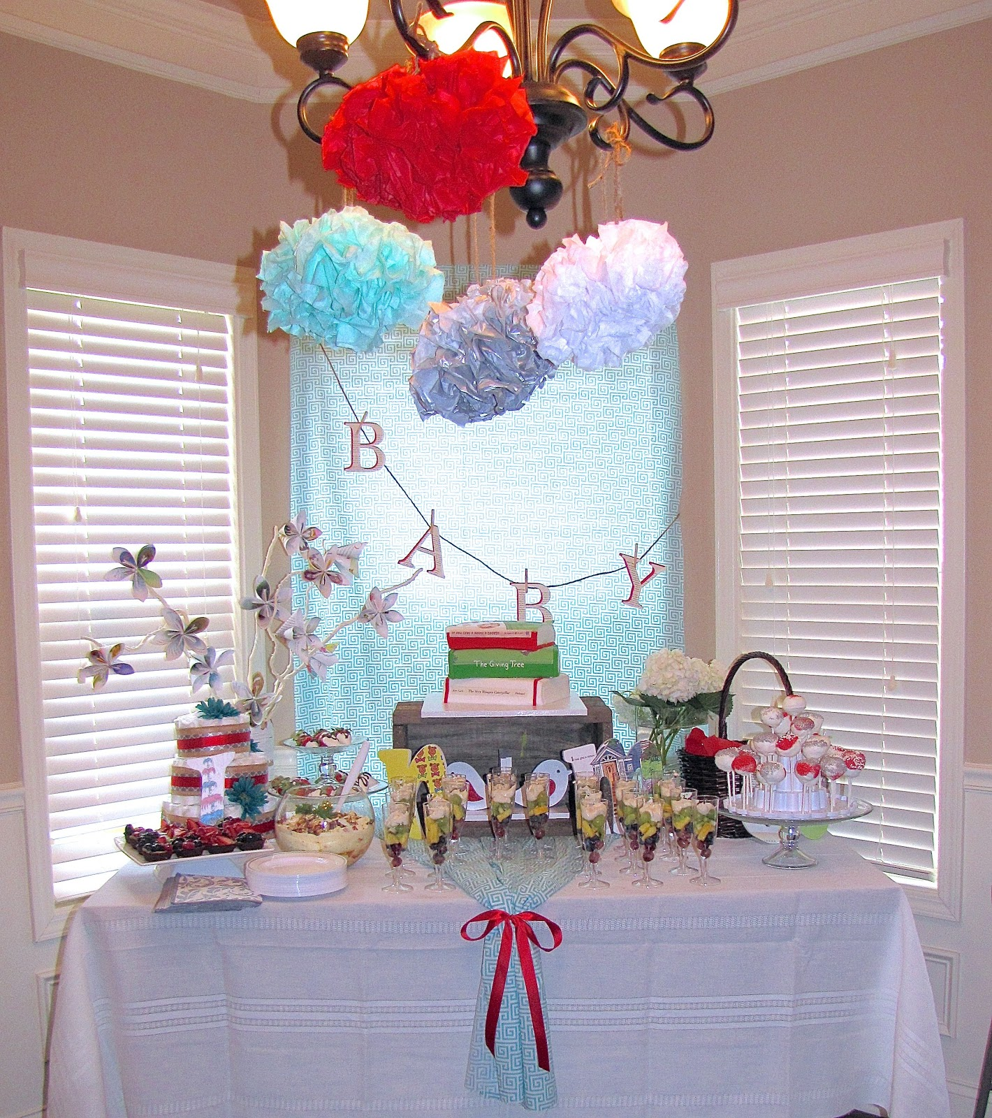The Modest Homestead Party Spotlight Book Themed Baby Shower
