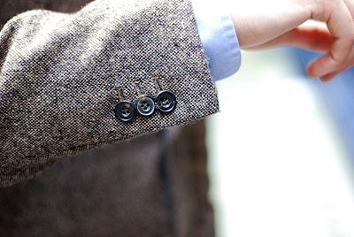 Rubinacci cashmere jacket 6: Finished article