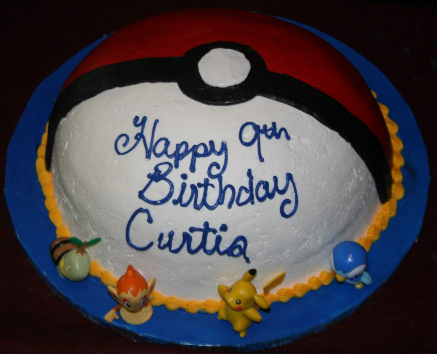 Pokemon Cake Toppers Nz