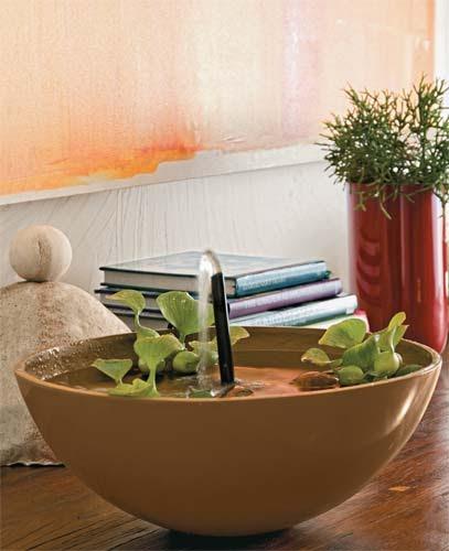 fontes de agua para decoracao de interiores : fontes de agua para decoracao de interiores:Das coisas que vejo e gosto.: Fonte de água para decoração.