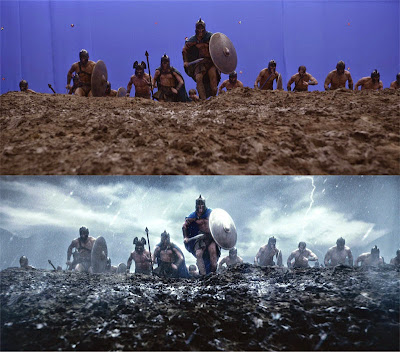 Beginilah gambar asli film Hollywood tanpa visual effect