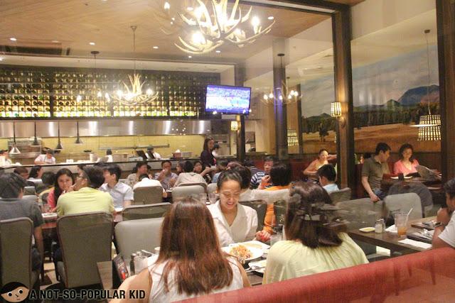 Interior of Village Tavern, Bonifacio Global City