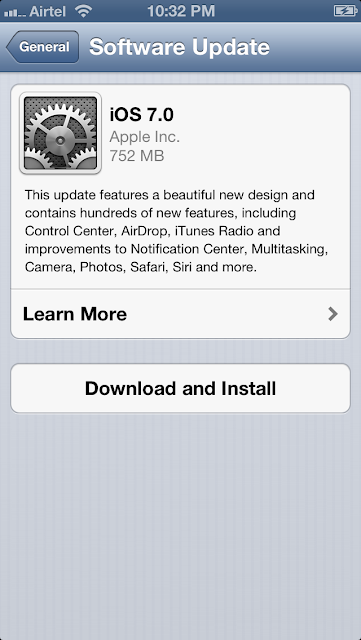 apple ios 7 release