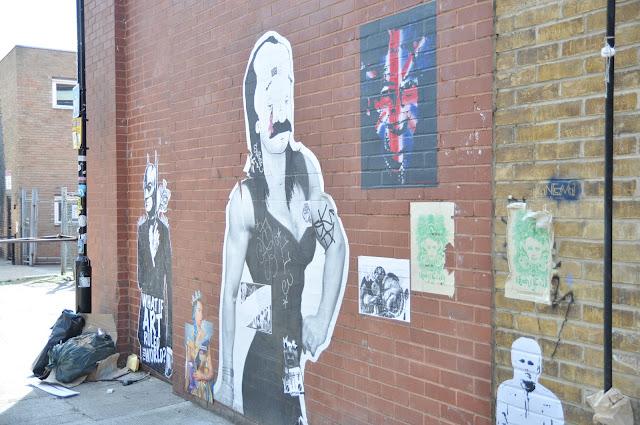 Shoreditch Chance Lane grafitti