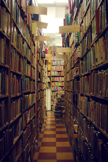 Picture of an independent bookstore