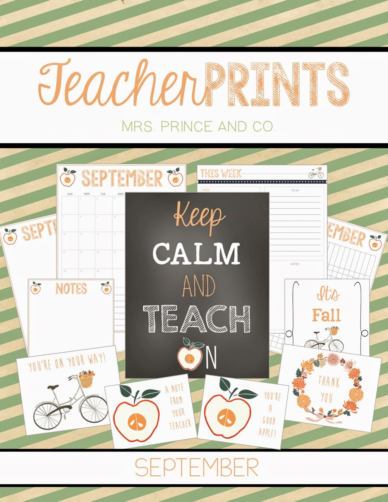 http://www.teacherspayteachers.com/Product/TeacherPRINTS-September-teacher-stationary-and-printables-1415171