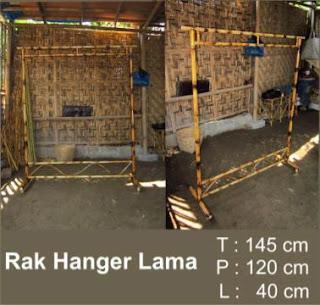 Rak Hanger Standart Gawangan Arsip