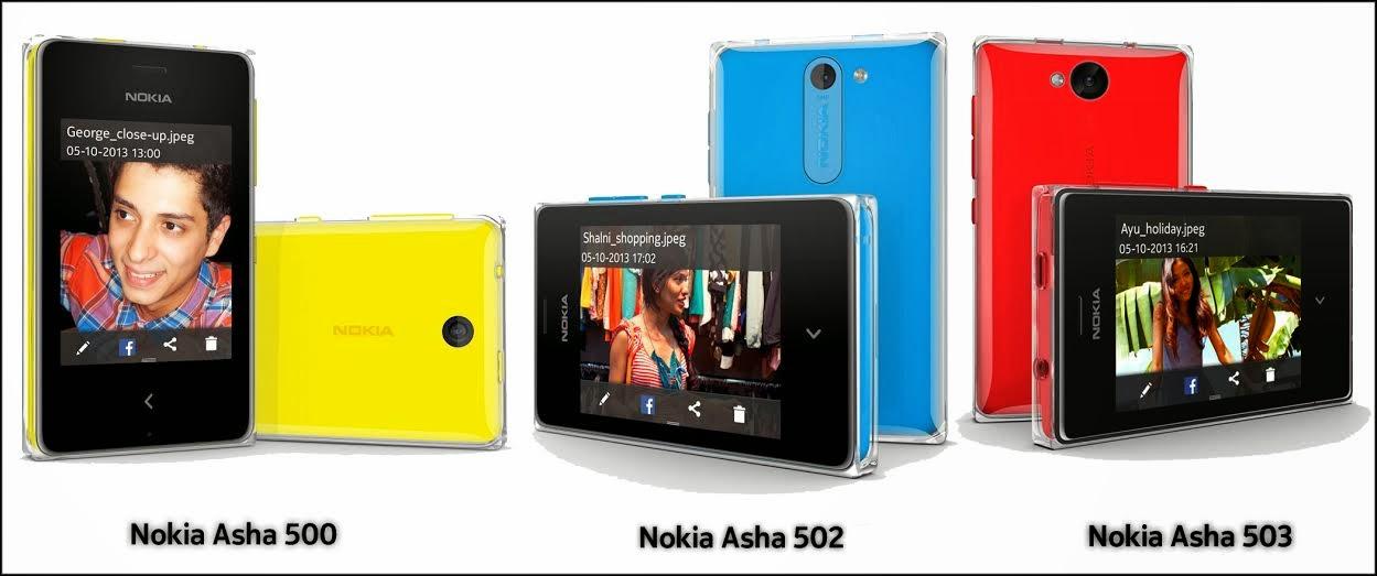 nokia pakistan announced that the new nokia asha 500 502 and 503 are