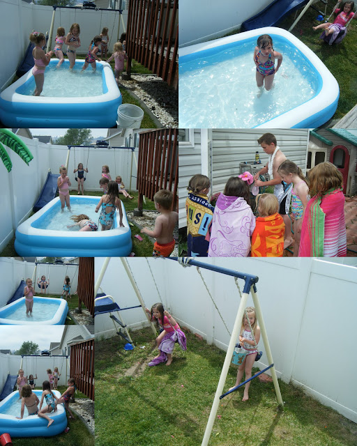 Big Brother Backyard Party :  party would be complete without a waterballoon attack from big