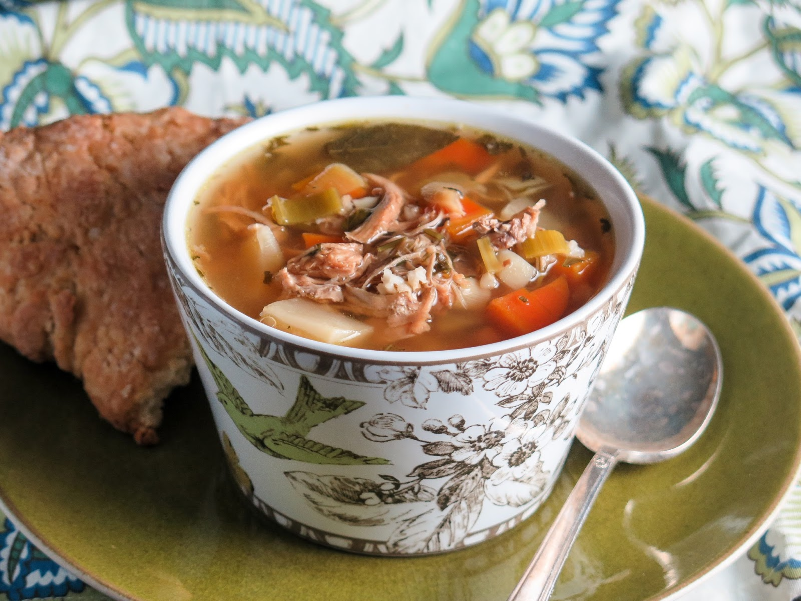 The Yum Yum Factor: Turkey Scotch Broth is a Snap In The Instant Pot