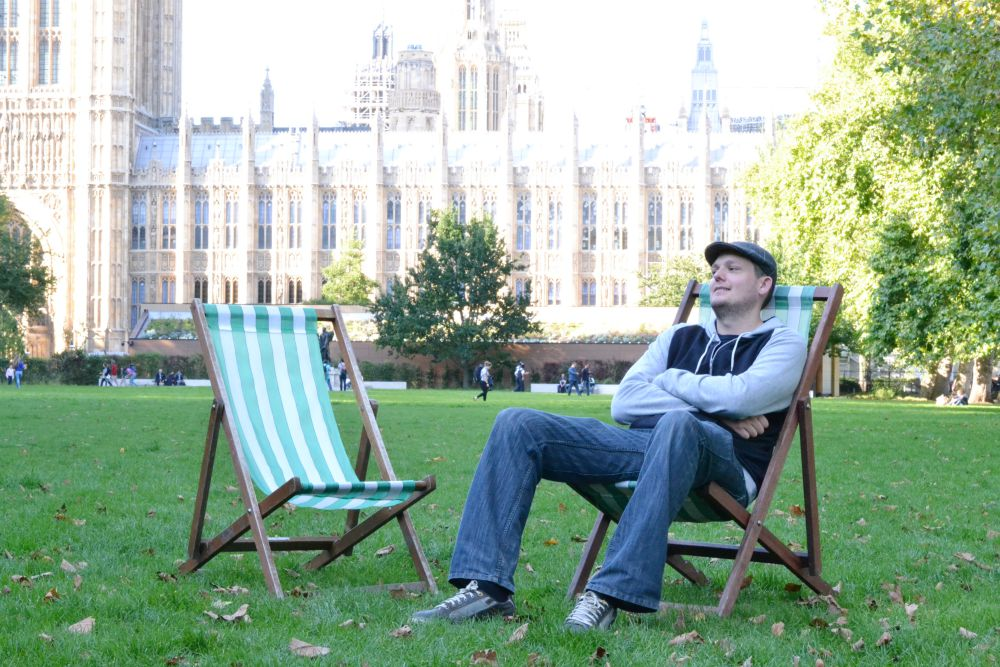 westminster deckchairs park london