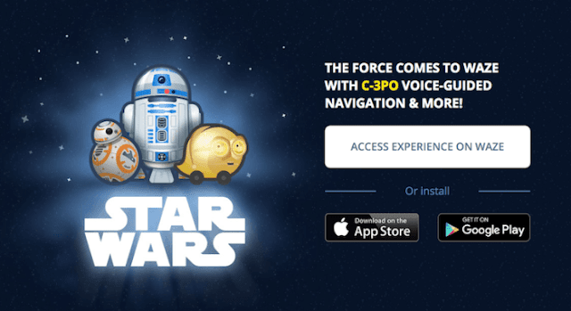 Waze Versi Star Wars