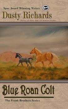 Blue Roan Colt Available NOW!