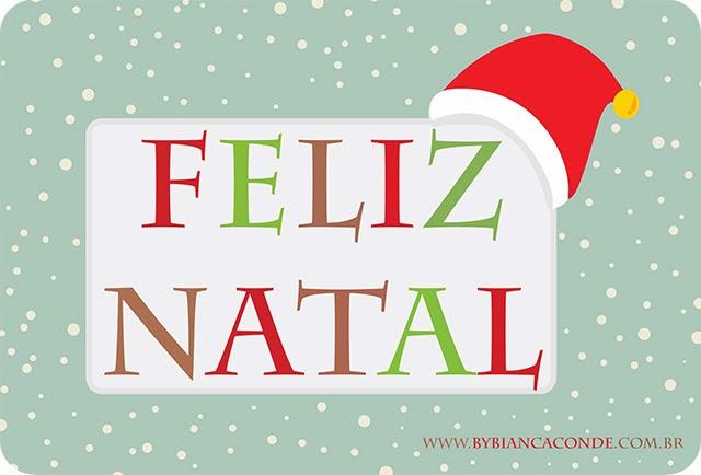 Dia de Natal - Feliz Natal - Merry Christmas