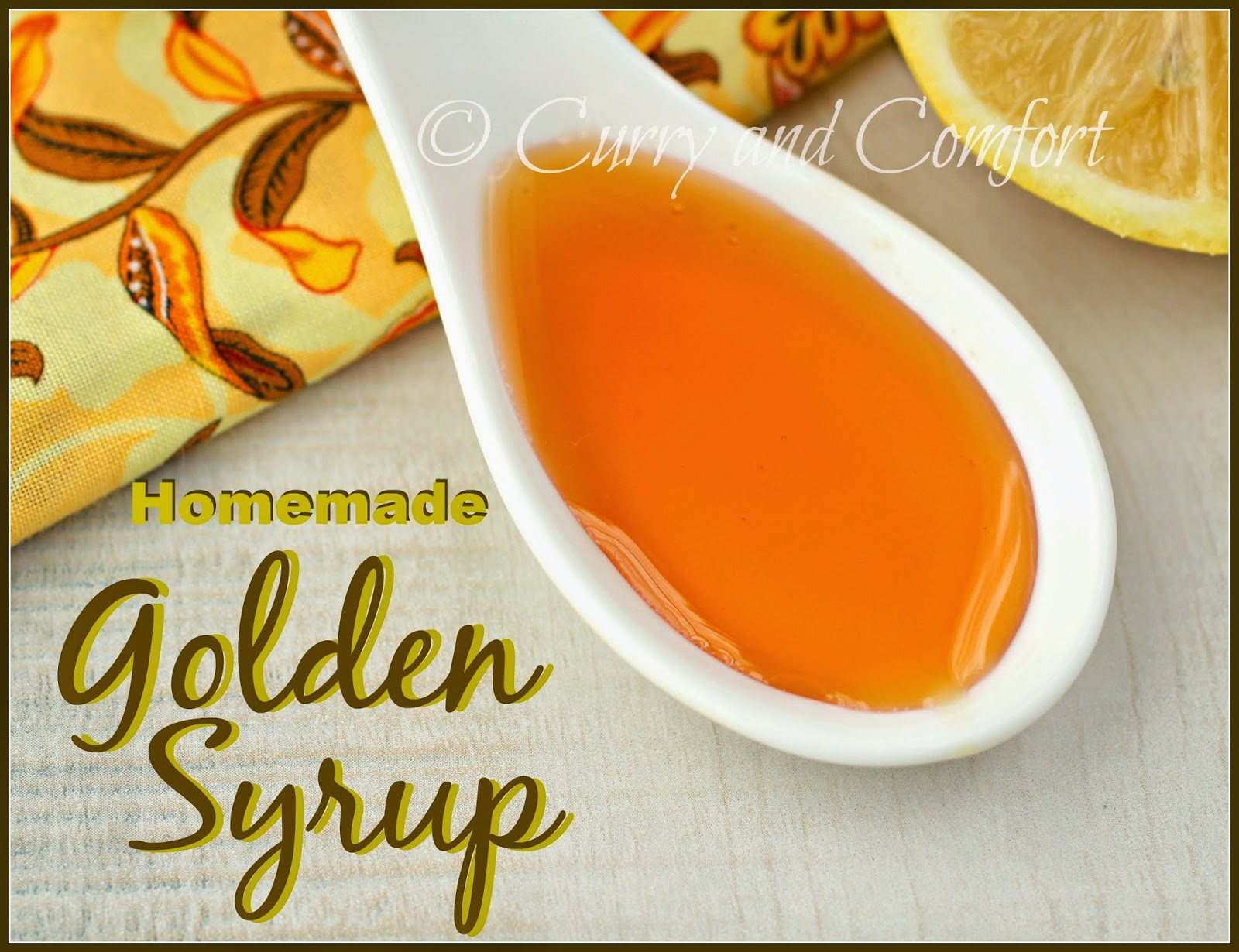 kitchen simmer tuesday tips how to make golden syrup at home