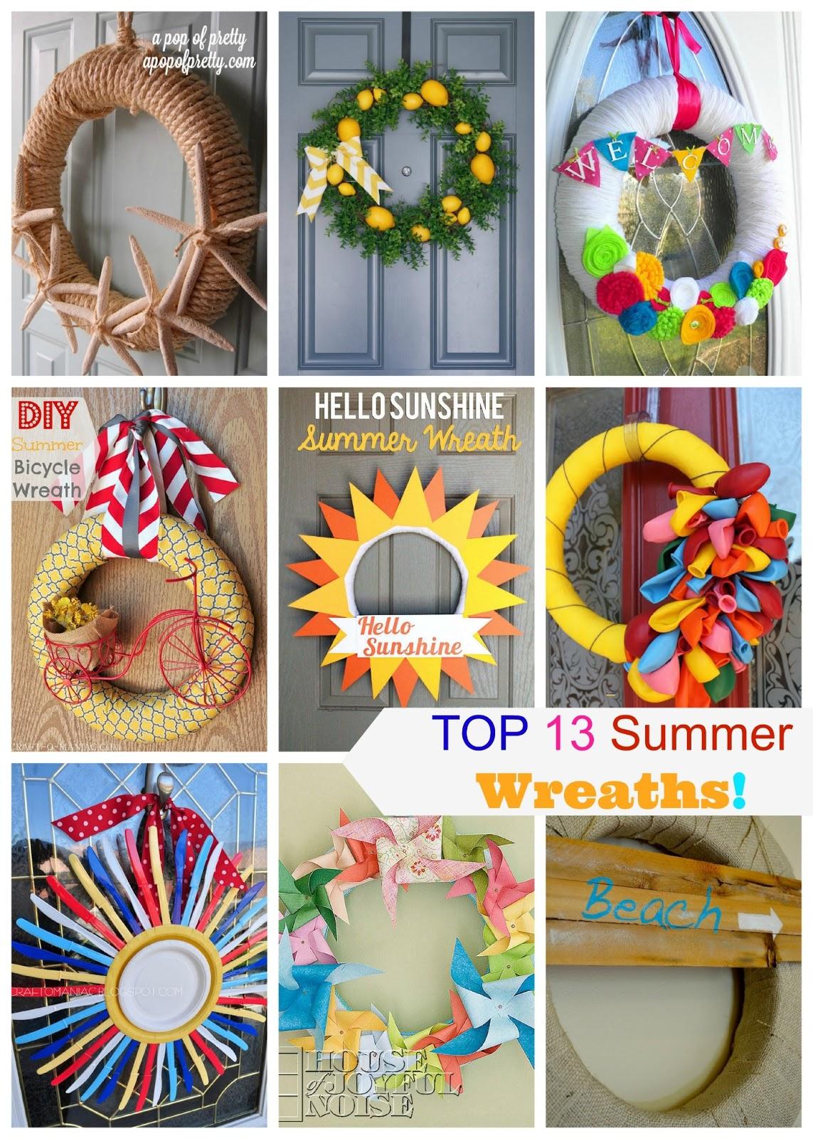 Top 13 summer wreaths for Diy summer wreath