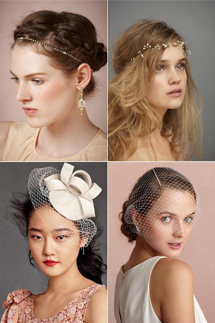 Kiera Knightley's wedding dress GET THE LOOK hair fascinators.