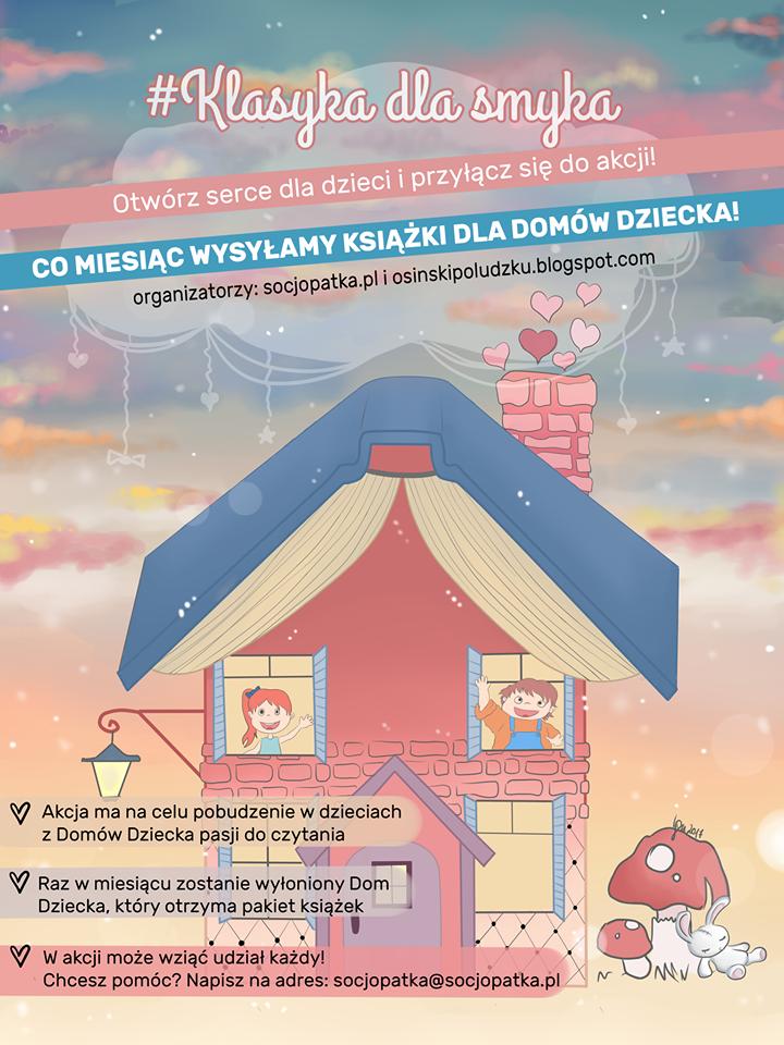 Kupujemy książki dla dzieci z Domów Dziecka - dołącz do akcji!