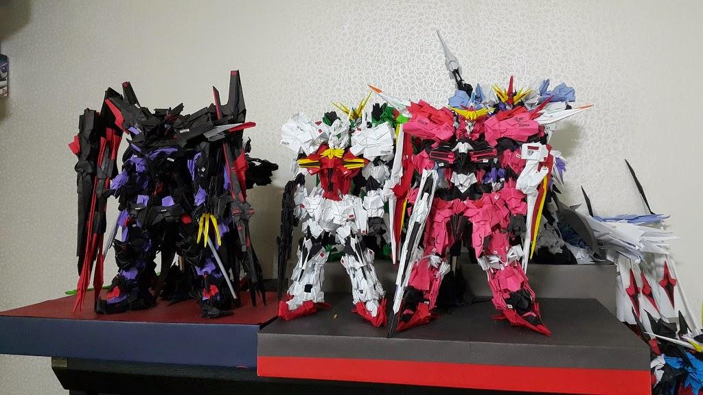 Gundam Papercraft Justice Origami