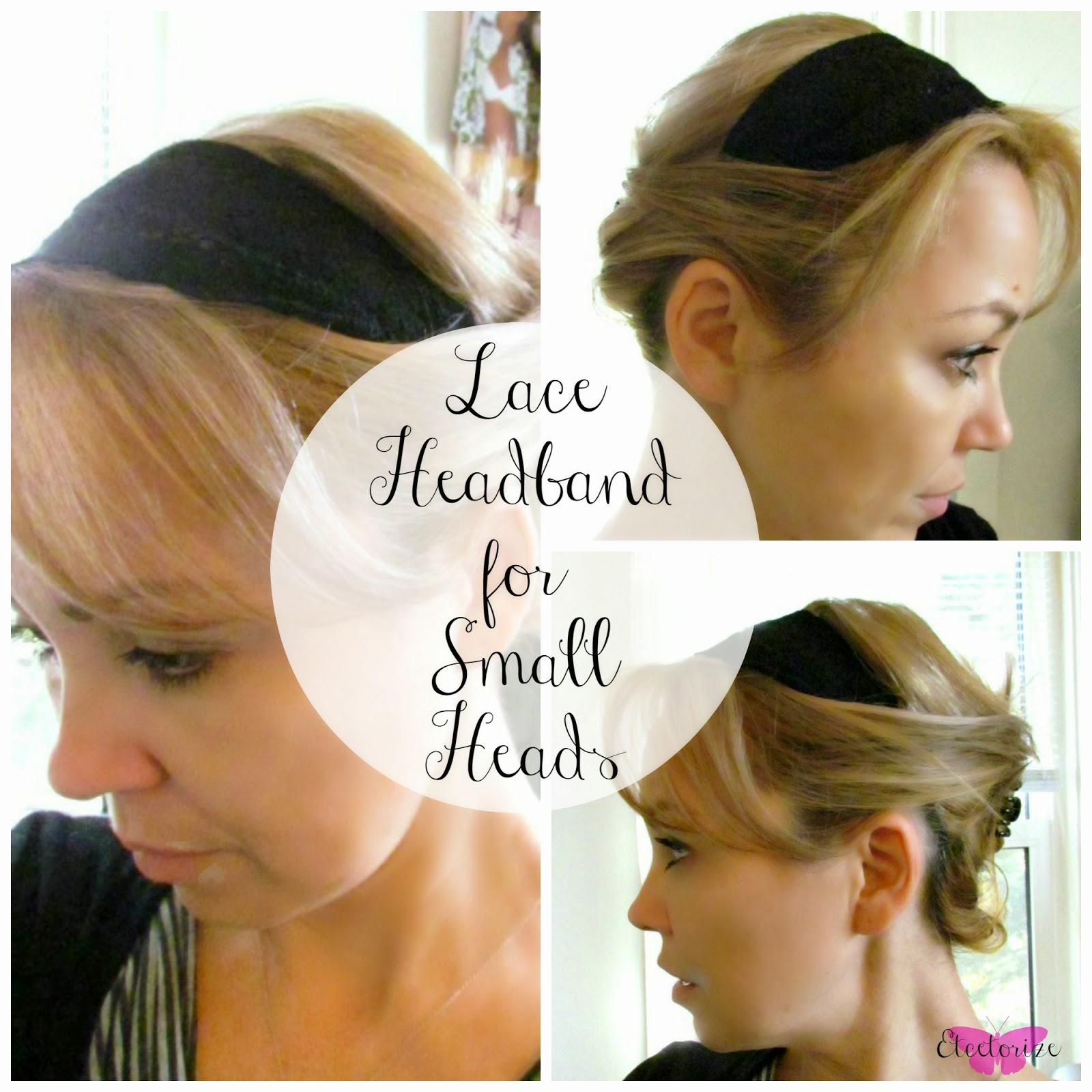 DIY, Lace, Headband