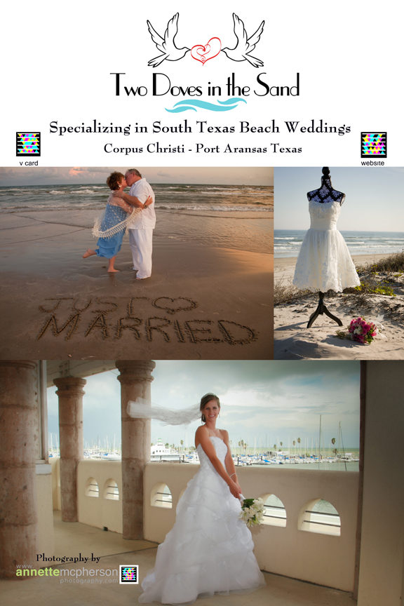 wedding packages for the Port Aransas and Corpus Christi area