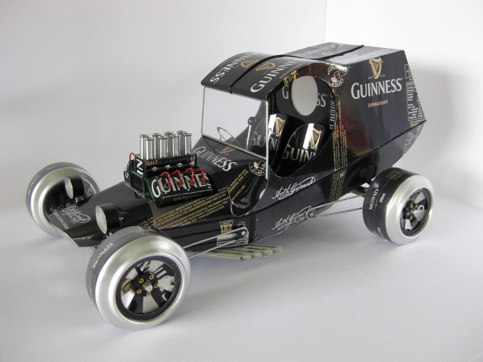 Autos de coleccion a partir de latas de aluminio | .